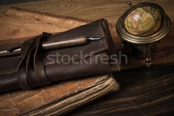 Travel memoirs concept  Stock photo © Nejron