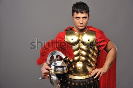 Legionary soldier ready for a war Stock photo © Nejron