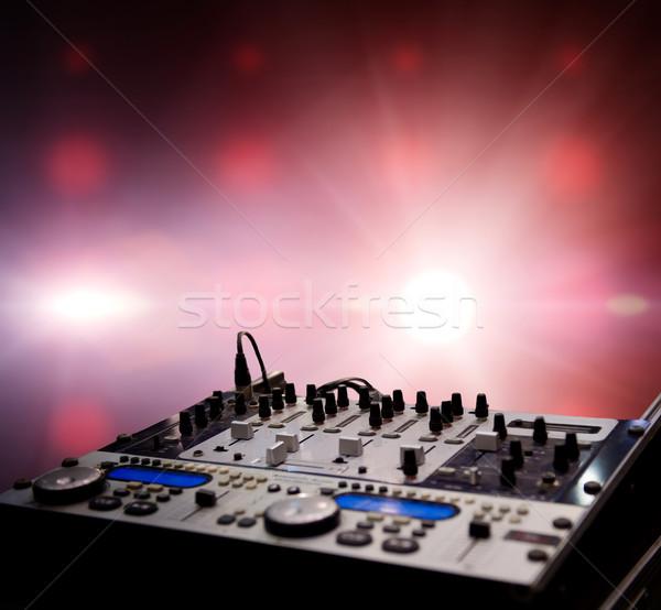 смеситель аннотация облака вечеринка Dance радио Сток-фото © Nejron