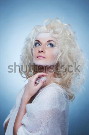 Lovely woman retro portrait  Stock photo © Nejron