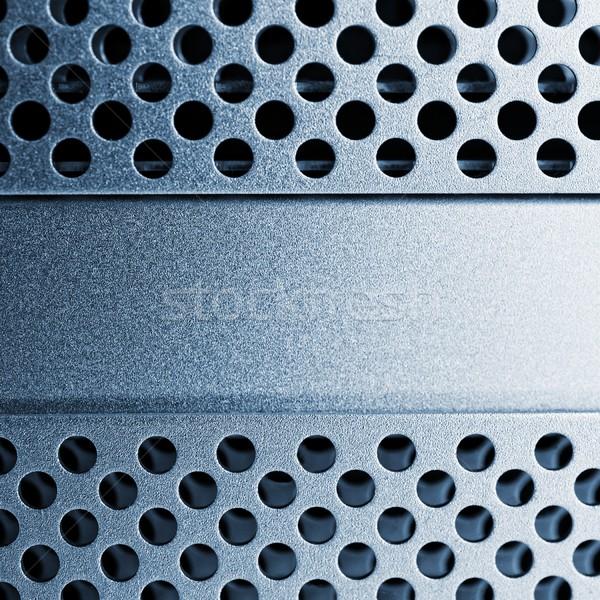 Abstract metal background. Stock photo © Nejron