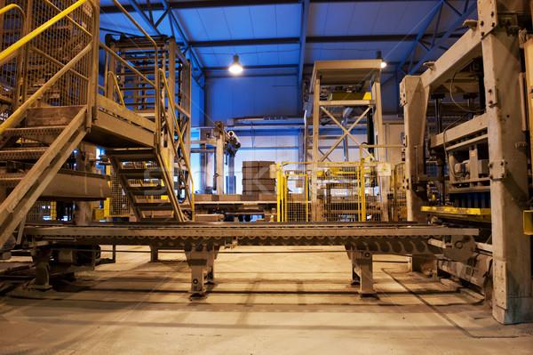 Vuota fabbrica costruzione metal industria energia Foto d'archivio © Nejron