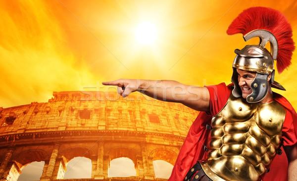 Colosseum (Rome, Italy) Stock photo © Nejron