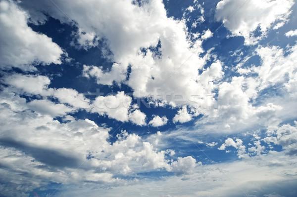 Felhőkép textúra absztrakt természet űr vihar Stock fotó © Nejron