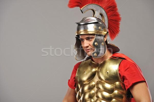 Portrait of a legionary soldier  Stock photo © Nejron