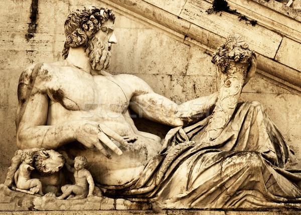 Ancient statue Stock photo © Nejron