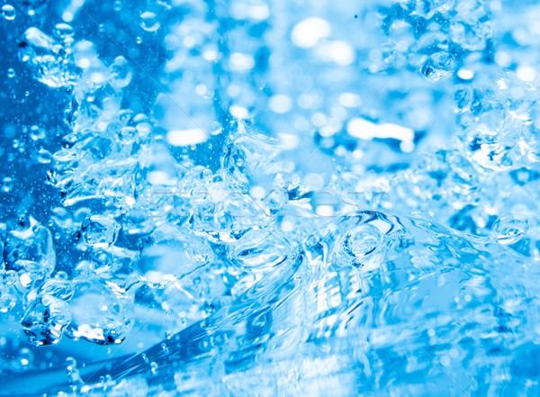 藍色 水 氣泡 抽象 性質 海 商業照片 © Nejron