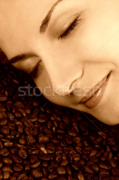 Scent of a coffee Stock photo © Nejron