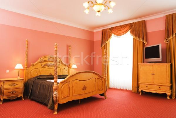 Luxury hotel room interior Stock photo © Nejron