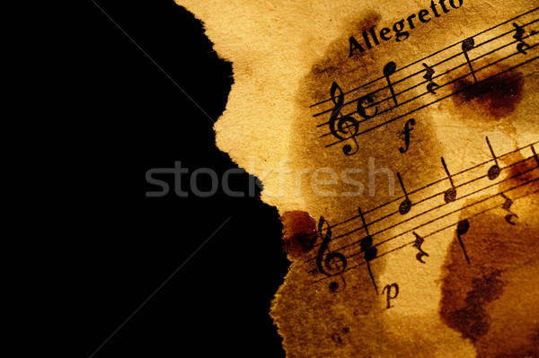 Grungy musical background Stock photo © Nejron