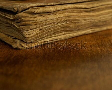 Close-up of a vintage book. Stock photo © Nejron