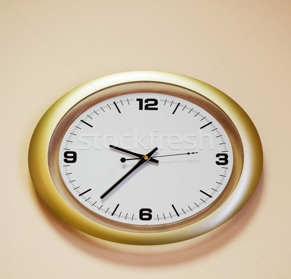 Stock photo: Beautiful wall-clock