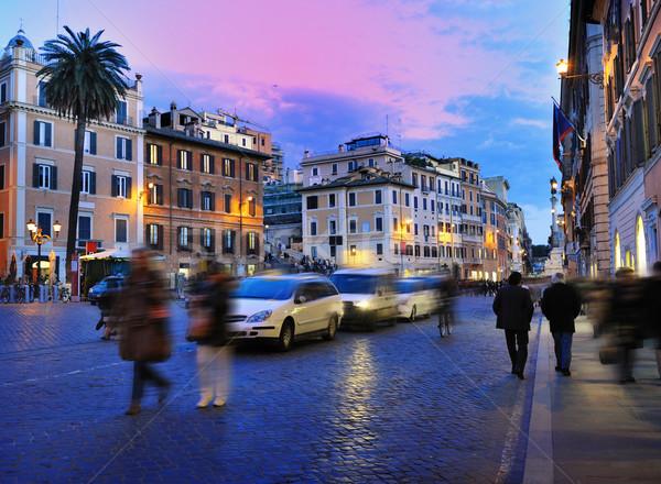 Rome, Italy (Piazza di Spagna)  Stock photo © Nejron
