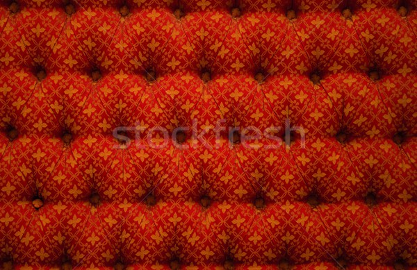 Close-up view of red luxury upholstery Stock photo © Nejron