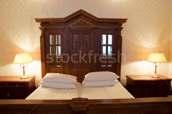 Luxury bed Stock photo © Nejron