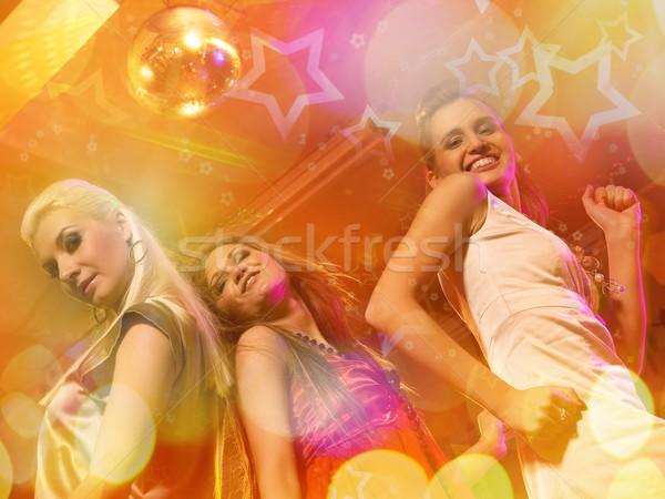Girls dancing in the night club   Stock photo © Nejron
