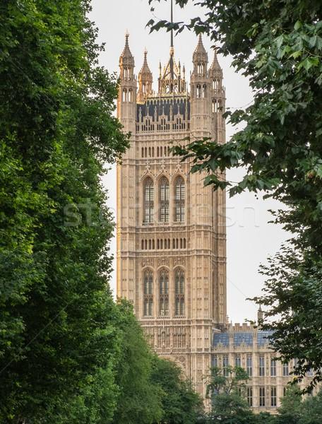 Westminster apátság torony London Anglia égbolt Stock fotó © Nejron