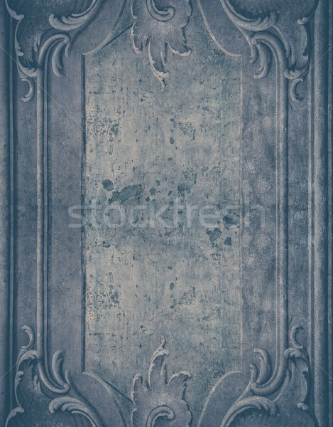 Weathered wall with plaster mouldings  Stock photo © Nejron