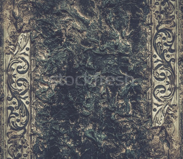Grunge wall with stucco work  Stock photo © Nejron