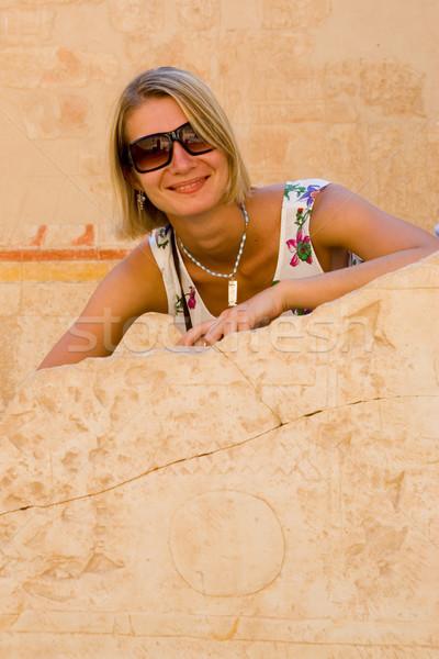 нет описание девушки женщины солнце модель Сток-фото © Nejron