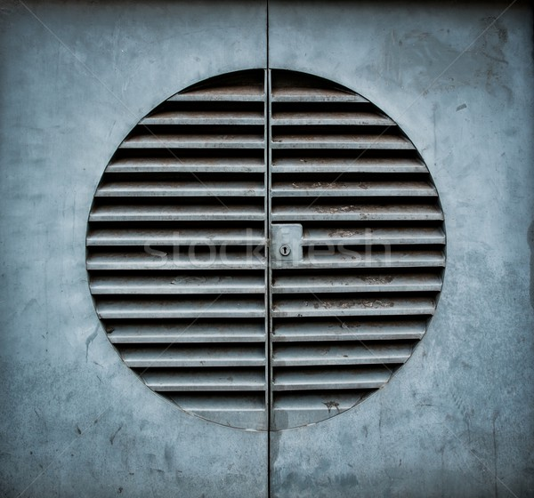 Ventilation shaft with a keyhole  Stock photo © Nejron