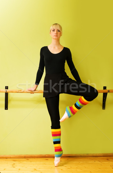 Stock photo: Beautiful ballet dancer (check my portfolio for other pictures i