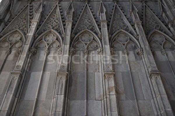 Old building architecture details. Stock photo © Nejron