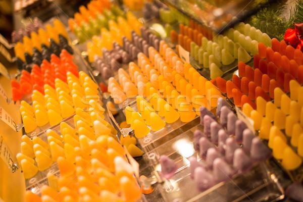 Sweets on market stall  Stock photo © Nejron