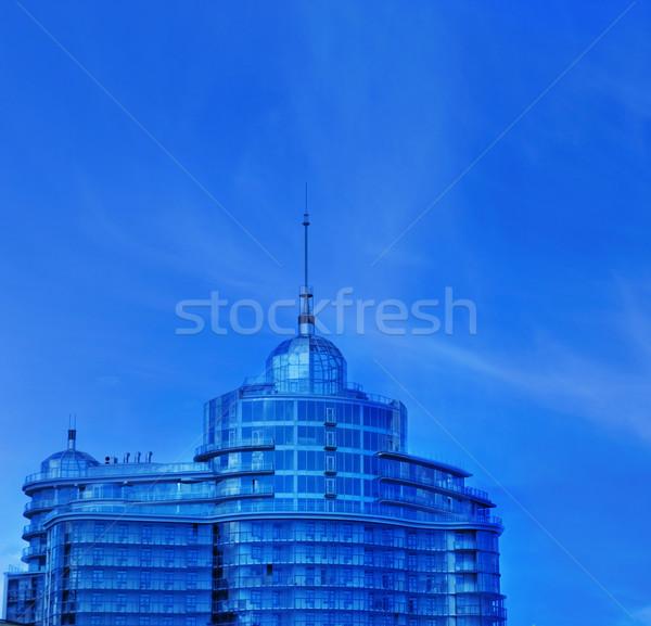 都市 オフィスビル 青空 ビジネス 空 オフィス ストックフォト © Nejron