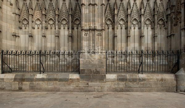 Old cathedral architecture details Stock photo © Nejron