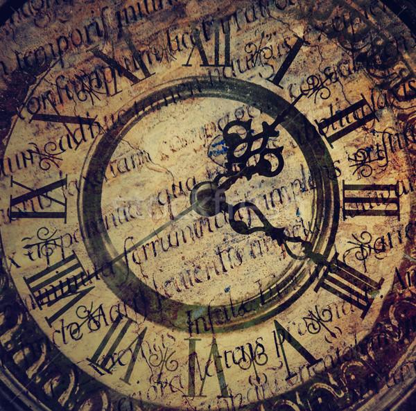 Edad antiguos reloj tiempo retro ver Foto stock © Nejron