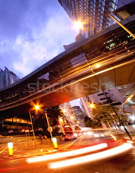 Fast moving cars at night  Stock photo © Nejron