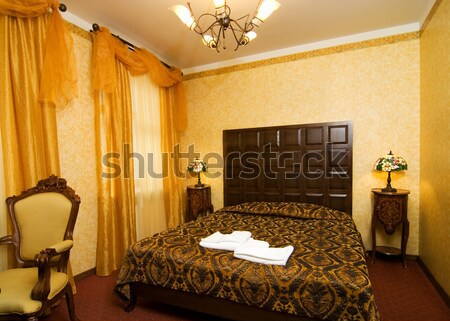 Luxury hotel room Stock photo © Nejron