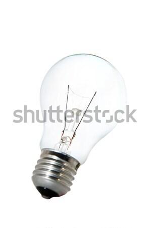 Tungsten ampul beyaz iş dünya ışık Stok fotoğraf © Nejron