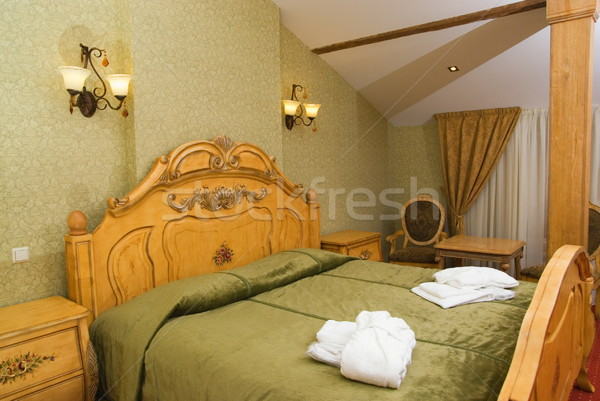 Suite room in luxury hotel Stock photo © Nejron