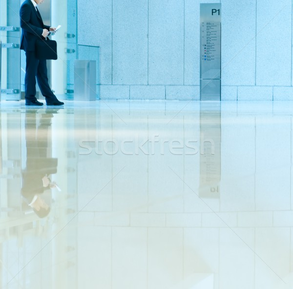 Businessman waiting Stock photo © Nejron