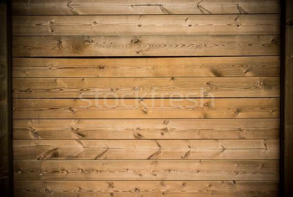 Wooden plank wall background Stock photo © Nejron