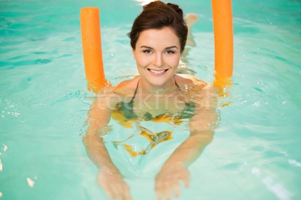 女性 水 エアロビクス トレーニング スポーツ プール ストックフォト © Nejron