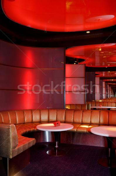 ナイトクラブ インテリア 音楽 レストラン バー 1泊 ストックフォト © Nejron