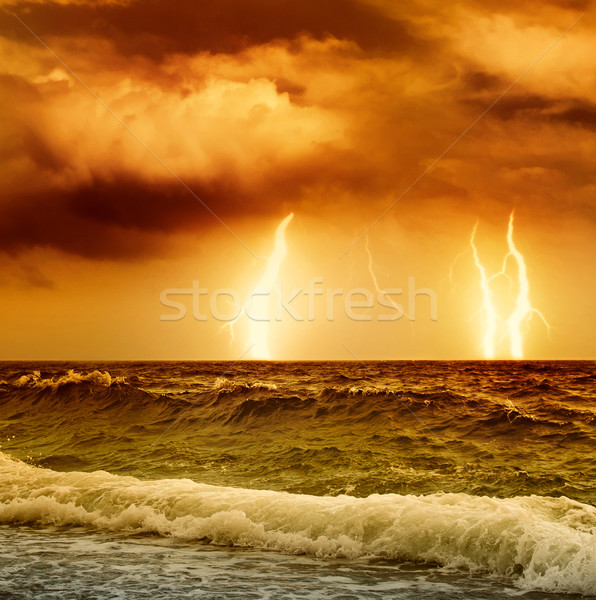 Ocean storm Stock photo © Nejron