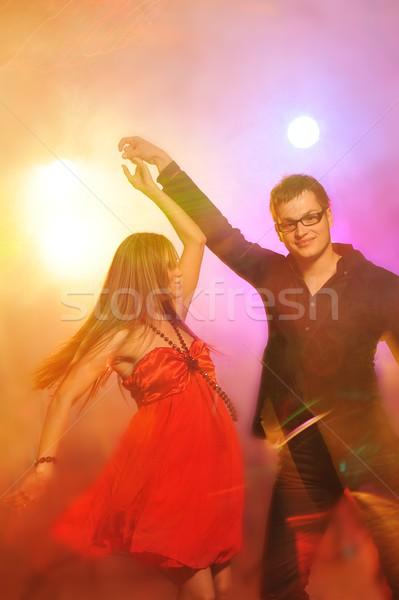 Dansen nachtclub meisje liefde dans Stockfoto © Nejron