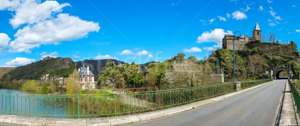 Old Ambialet village on Tarn river, France  Stock photo © Nejron