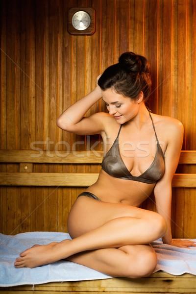 расслабляющая сауна здоровья красоту медицина Сток-фото © Nejron