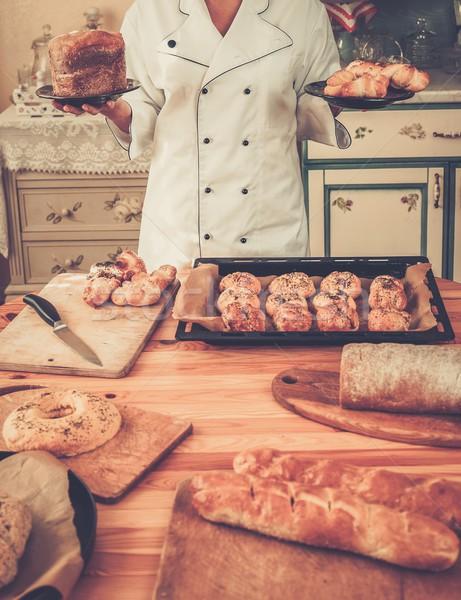 Cozinhar mãos caseiro bens Foto stock © Nejron