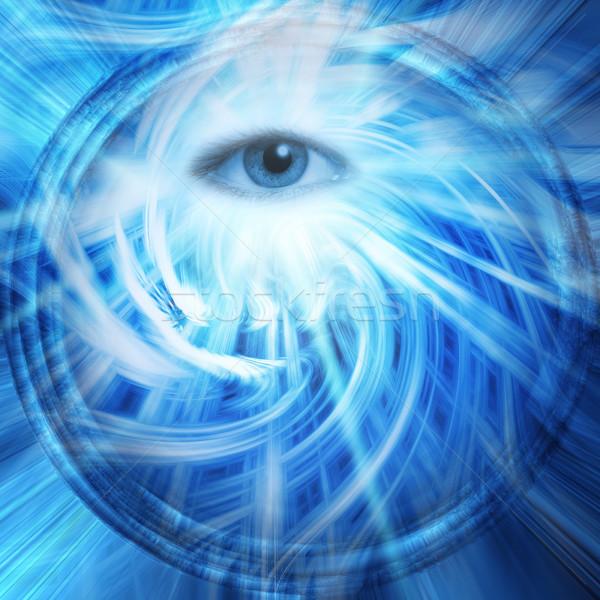 Abstract oog licht technologie achtergrond geneeskunde Stockfoto © Nejron