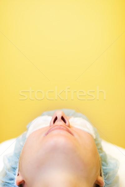 Beautiful girl in spa salon Stock photo © Nejron
