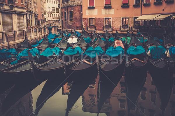 фотография многие воды путешествия группа лодка Сток-фото © Nejron