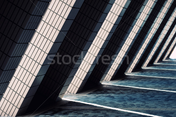 Modern architecture background Stock photo © Nejron