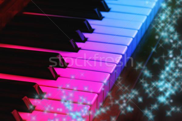 Magic piano Stock photo © Nejron