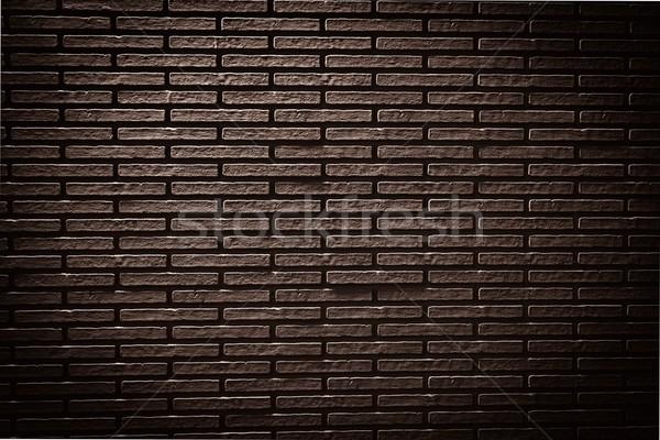 Сток-фото: старые · кирпичная · стена · аннотация · фон · темно · обои